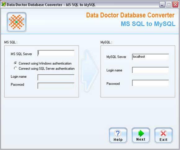Migrate MSSQL Database to MySQL screenshot